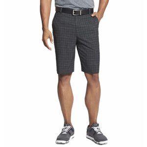 Nike Dri-Fit Windowpane Plaid Golf Shorts Men's 34